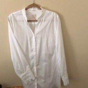 Chico's No-iron white blouse